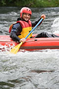 Single River rafting
